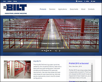 BILT Industries Responsive Website