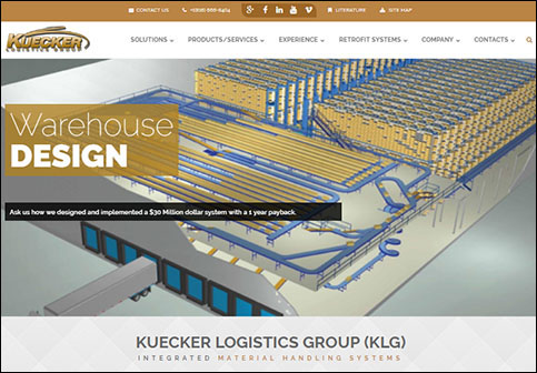 Kuecker Logistics Group Responsive Website
